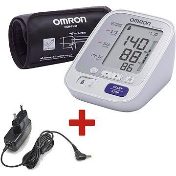 OMRON M3 Comfort + TÁPEGYSÉG (KÉSZLET)