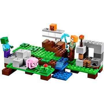 LEGO Minecraft 21123 A vasgólem