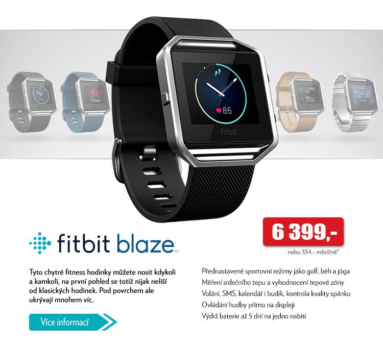 Fitbit blaze chytré fitness hodinky