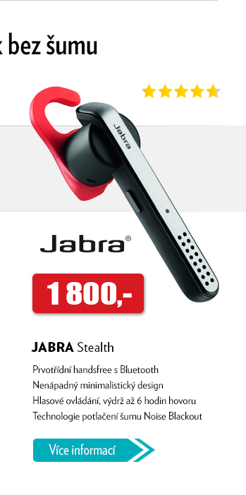 Handsfree s Bluetooth JABRA Stealth