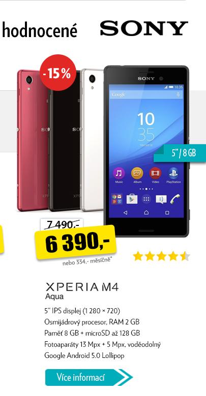 Smartphone Xperiam4 Aqua