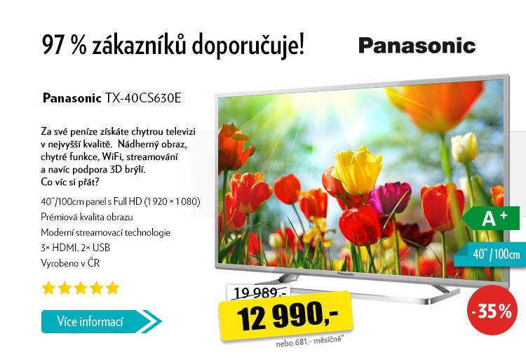 Chytrá televize Panasonic TX-40CS630E