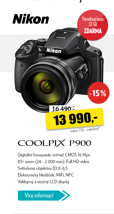 Digitální fotoaparát NIKON Coolpix P900