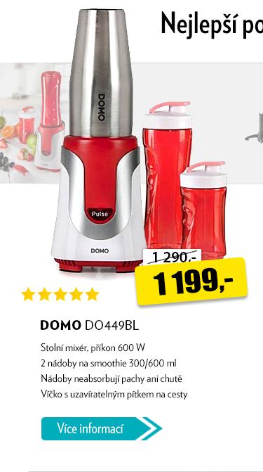 Stolní mixér DOMO DO449BL