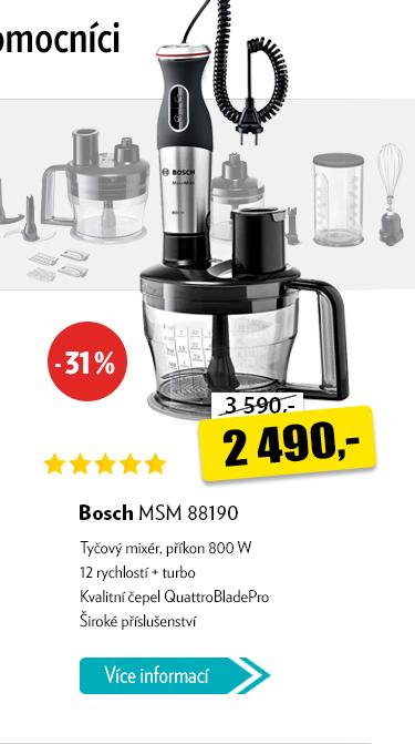 Tyčový mixér Bosch MSM 88190