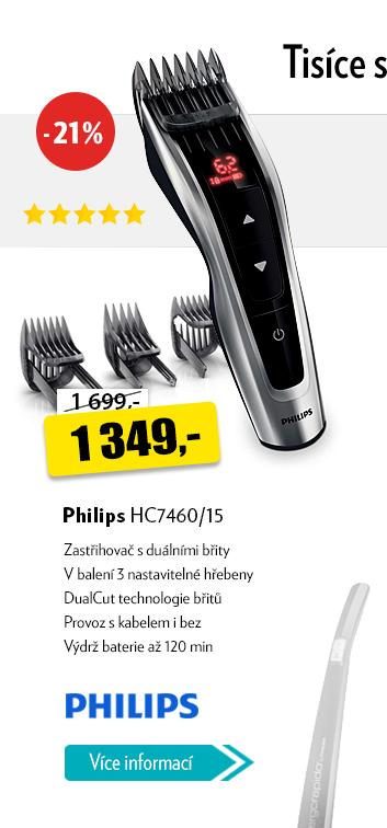 Zastřihovač Philips HC7460/15