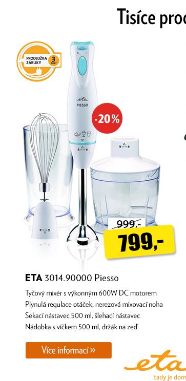 Tyčový mixér ETA 3014.90000 Piesso