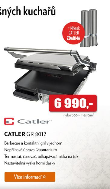Barbecue a kontaktní gril Catler GR 8012