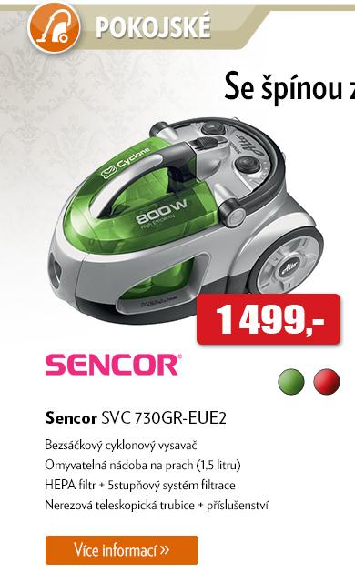 Vysavač Sencor SVC 730GR-EUE2