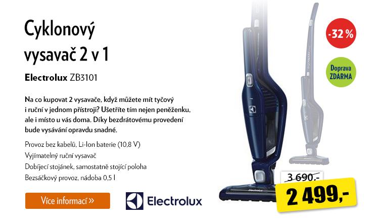 Vysavač Electrolux ZB3101