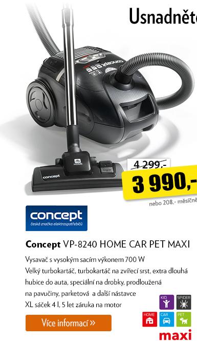 Vysavač Concept VP-8240 Home Car Pet Maxi