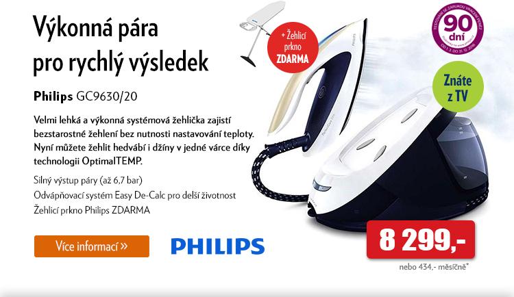 Žehlička Philips GC9630/20