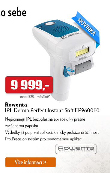 Epilátor Rowenta IPL Derma Perfect Instant Soft EP9600F0