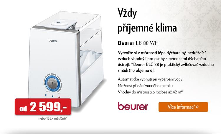 Zvlhčovač vzduchu Beurer LB 88 Wh