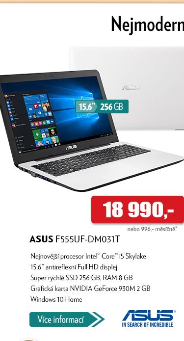 Notebook Asus F555UF-DM031T