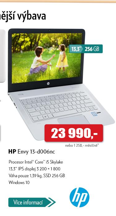 Notebook HP Envy 13-d006nc