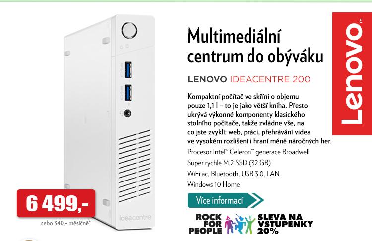 Multimediální centrum Lenovo Ideacentre 200