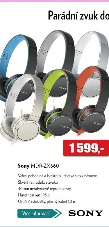 Sluchátka Sny MDR-ZX660