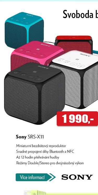 Bezdrátový mini reproduktor Sony SRS-Y11