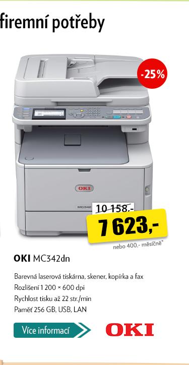 Laserová tiskárna OKI MC342dn