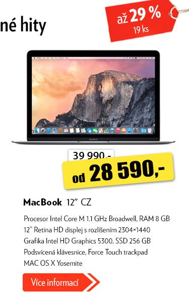 """MacBook 12"""" CZ"""