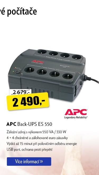 Záložní zdroj APC Back-UPS ES 550