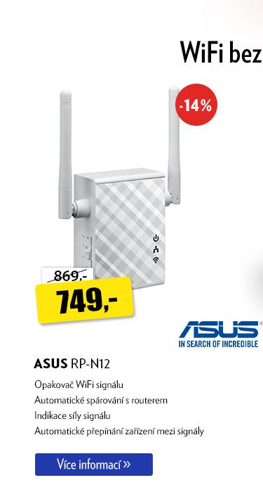 Opakovač Wifi Asus RP-N12