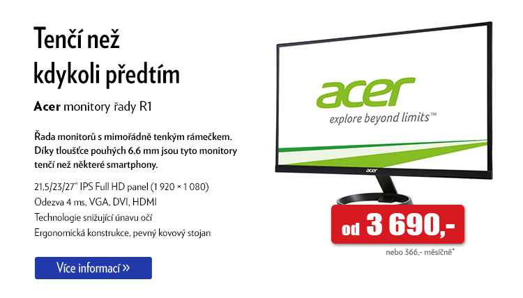 Monitor Acer R1
