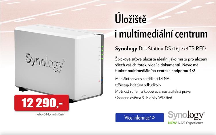Síťové úložiště Synology DiskStation DS216j
