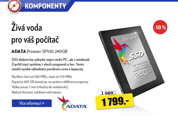 SSD disk ADAT Premier SP550