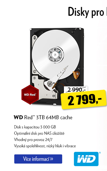 Disk WD Red 3TB