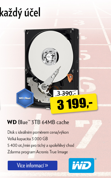 Disk WD Blue 3TB