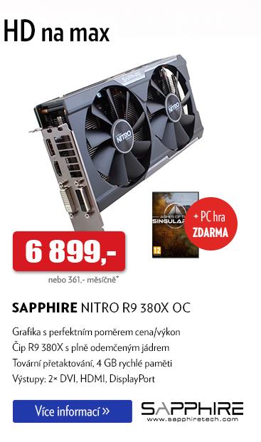 Grafická karta Sapphire Nitro R9 380X OC