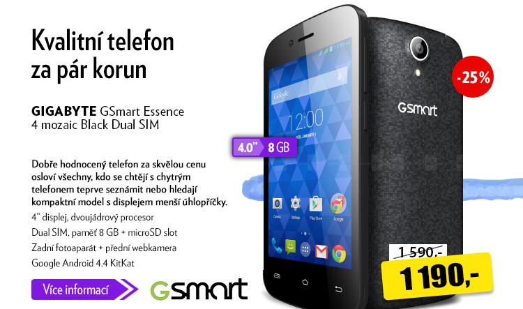 Smartphone Gigabyte GSmart Essence 4 mozaic Black Dual SIM