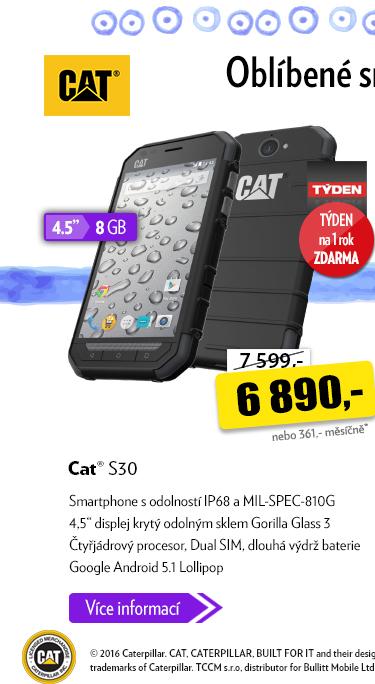 Smartphone Cat S30