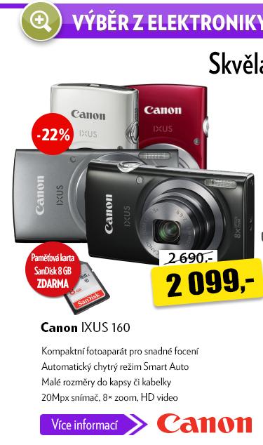 Fotoaparát Canon IXUS 160