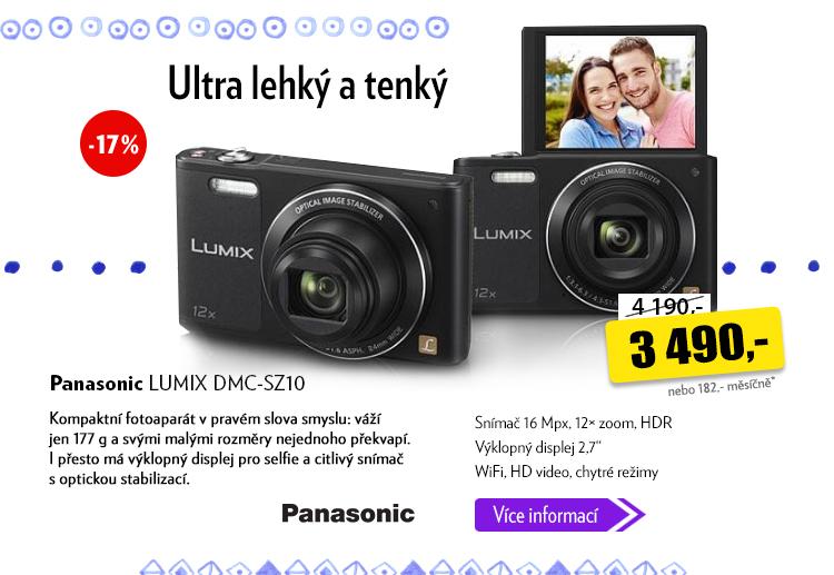 Fotoaparát Panasonic Lumix DMC-SZ10