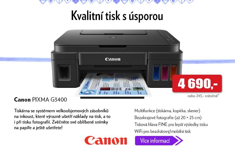 Tiskárna Canon Pixma G3400