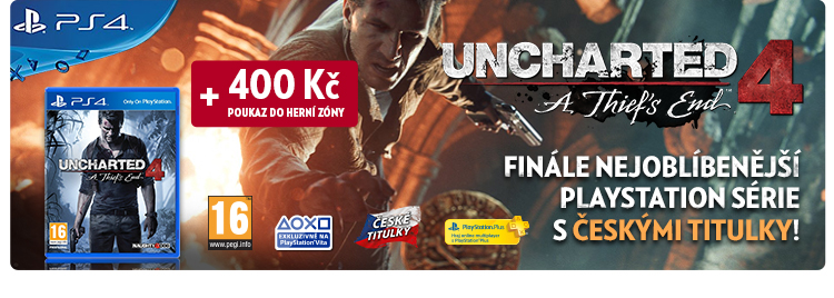 Hra na PS4 Uncharted 4