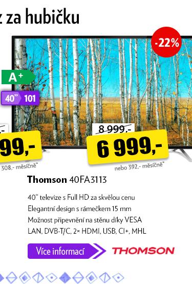 Full HD TV Thomson 40FA3113