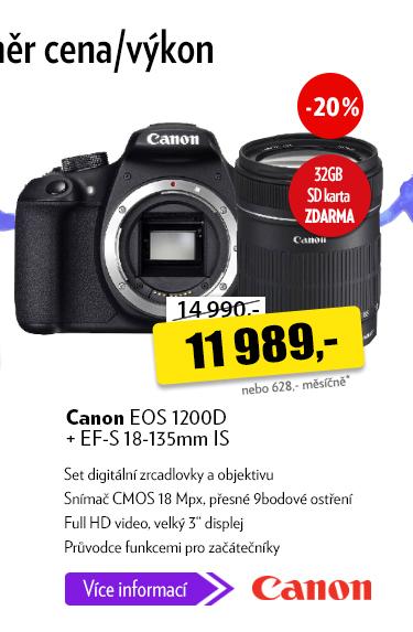 Zrcadlovka Canon EOS 1200D