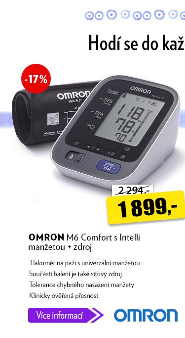Tlakoměr Omron M6 Comfort