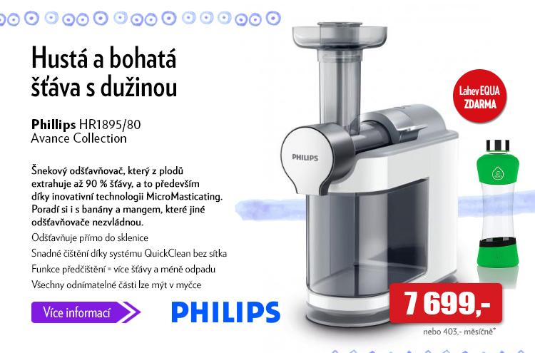 Odšťavňovač Philips HR1895/80 Avance Collection