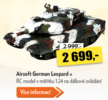 RC tank Airsoft German Leopard