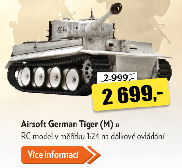 RC tank Airsoft German Tiger