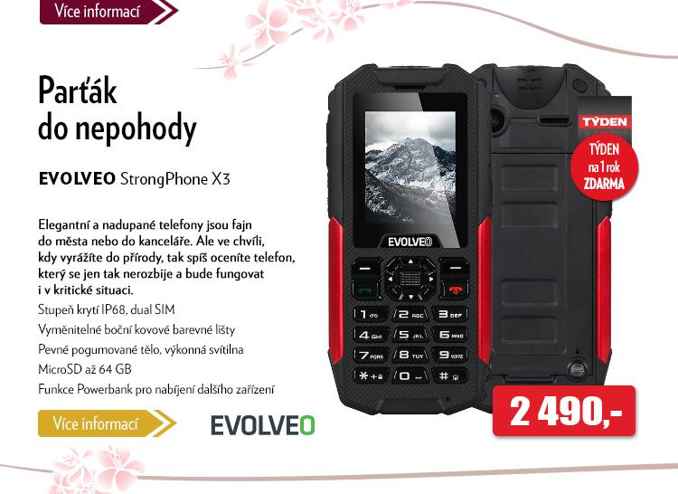 Telefon Evolveo StrongPhone X3