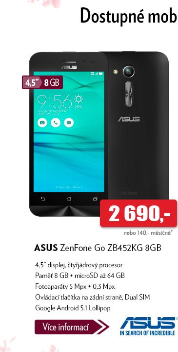 Smartphone Asus ZenFone Go ZB452KG