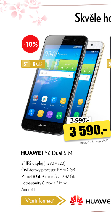 Smartphone Hauwei Y6 Dual SIM