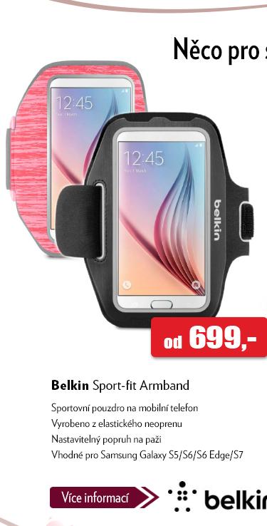 Pouzdro na mobil Belkin Sport-fit Armband