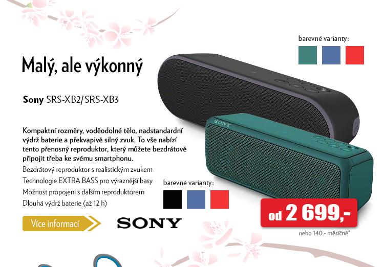 Reproduktor Sony SRS-XB/SRS-XB3